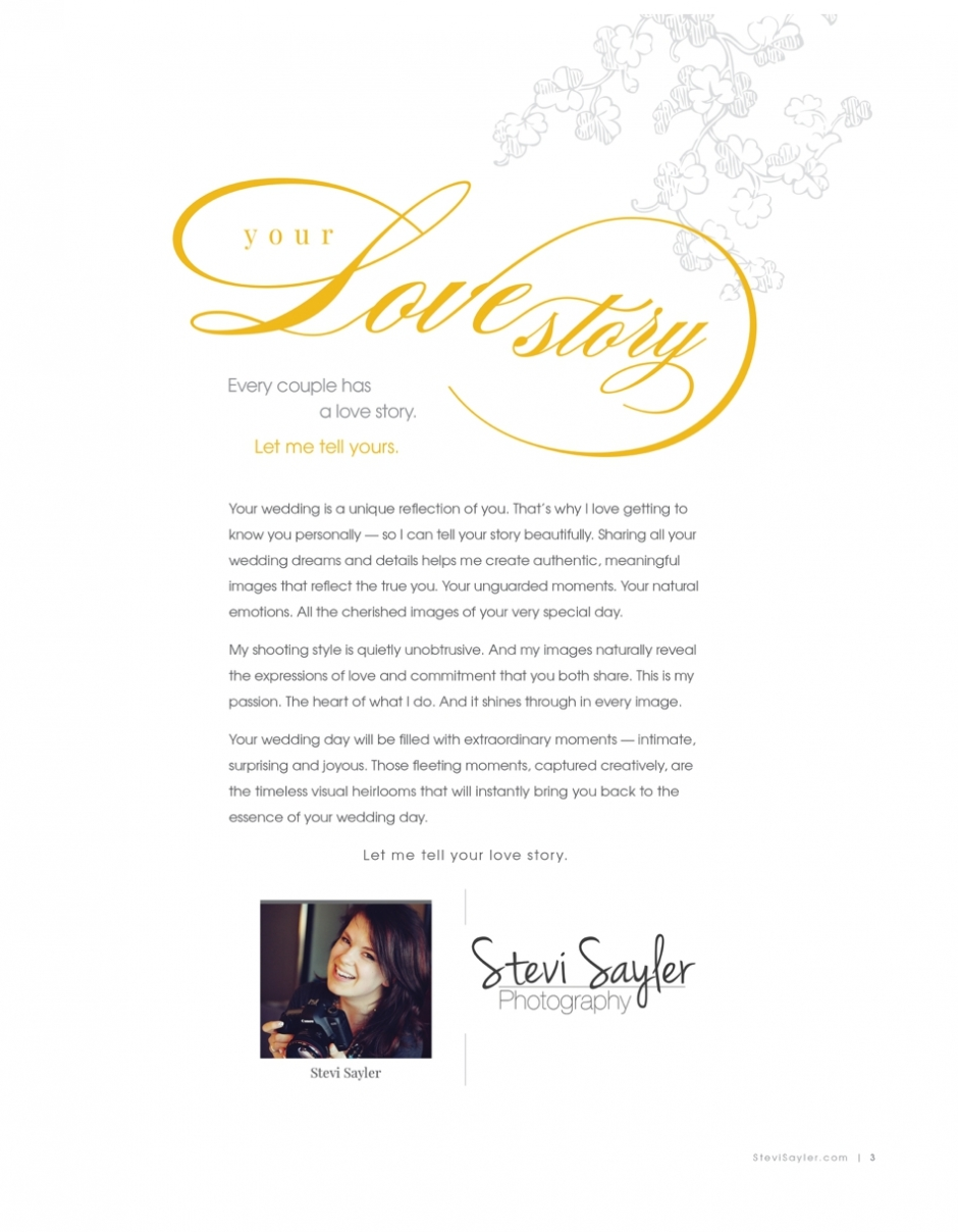 Stevi Sayler Photograph Wedding Magazine