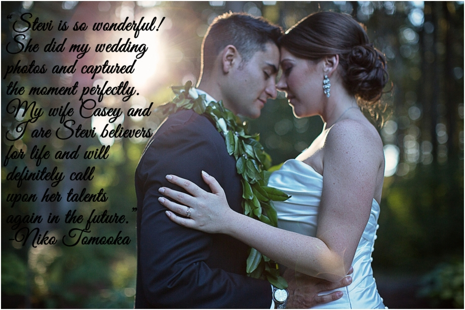 Stevi Sayler Photography Wedding Client Reviews
