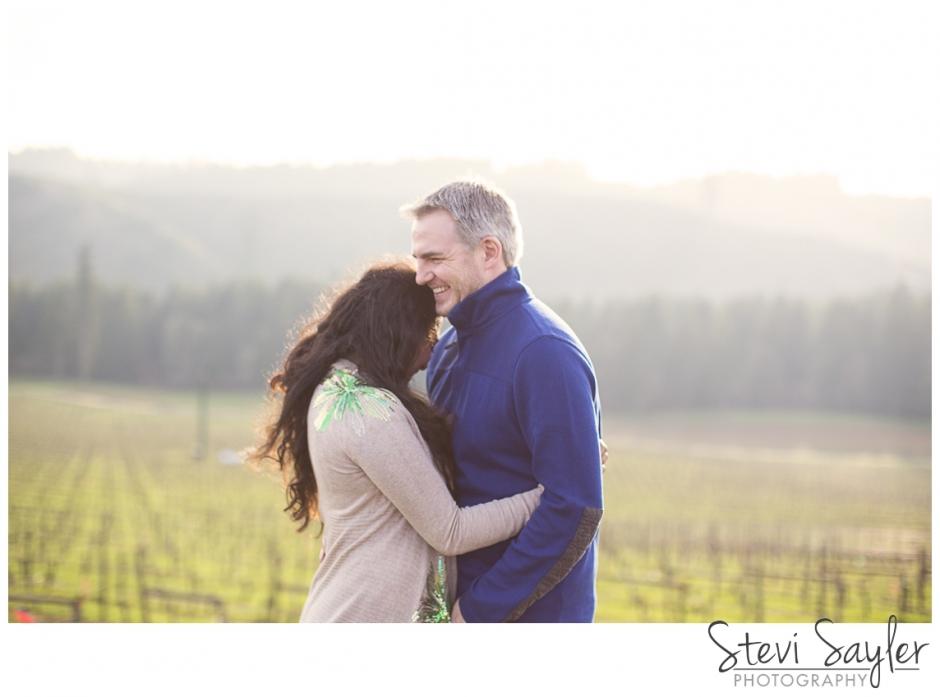 Stevi Sayler Photography King Estates Winery Engagement Session February Sunny Day Session Eugene Oregon Wedding Photography