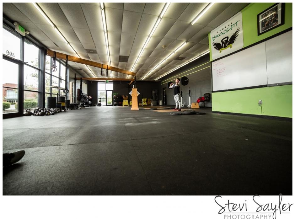 Stevi Sayler Photography - Eugene Crossfit Box Ultra Wide Shot