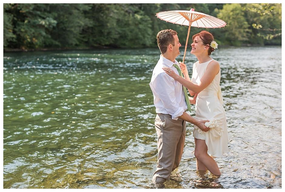 Eagle Rock Lodge // Ann And Tony Mckenzie River Wedding