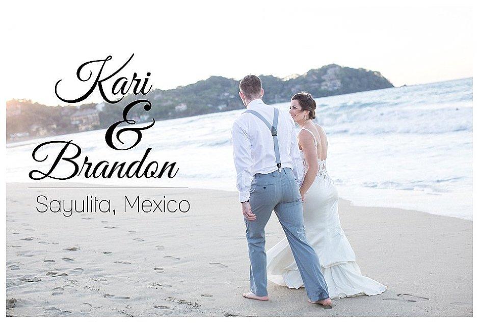 Sayulita Mexico Beach Wedding // Kari and Brandon Wed By The Sea // Stevi Sayler Photography