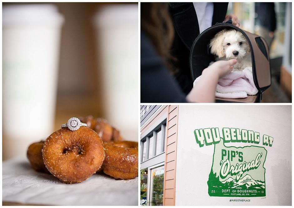 Portland Oregon Engagement Session // Pips Doughnuts & Joseph Wood Hill Park // Christin & Daniel // Stevi Sayler Photography